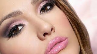 Красивый макияж на романтическое свидание - видео урок - красивый макияж