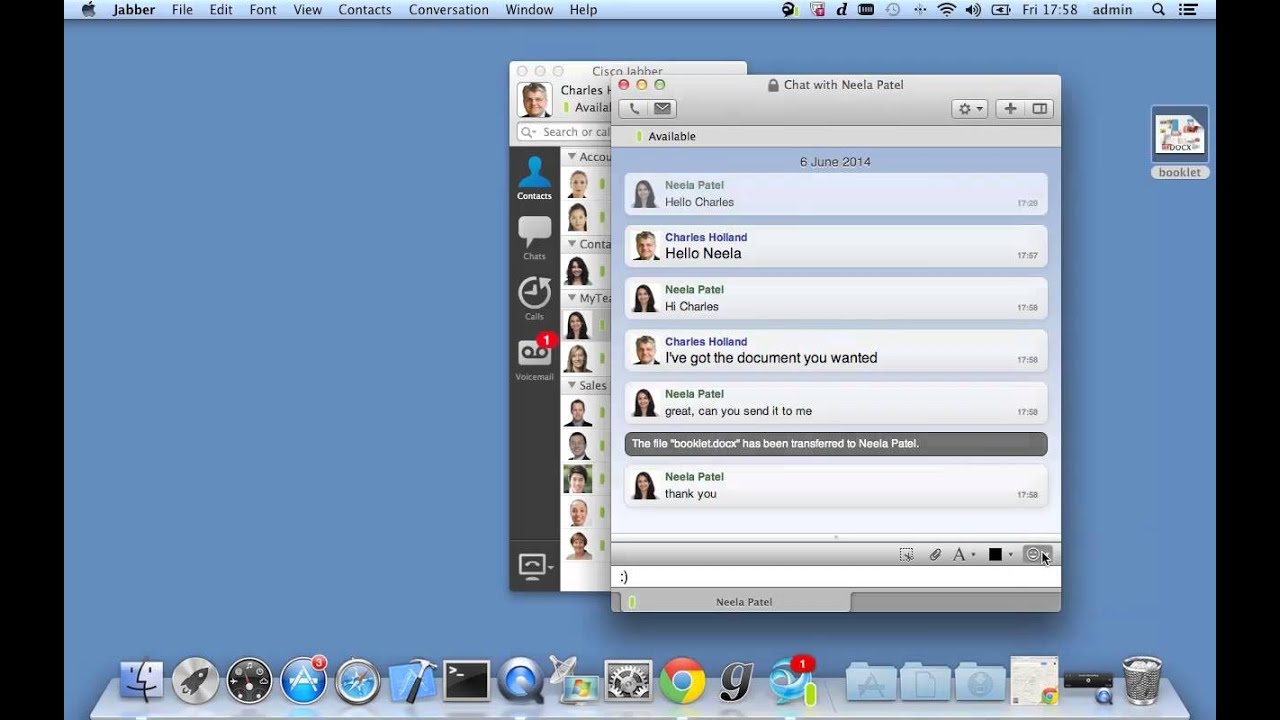 Jabber Mac Chat Emoticons