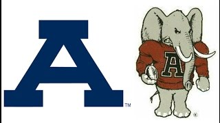 1961 Iron Bowl, Auburn vs #1 Alabama (The Bear Bryant Show)