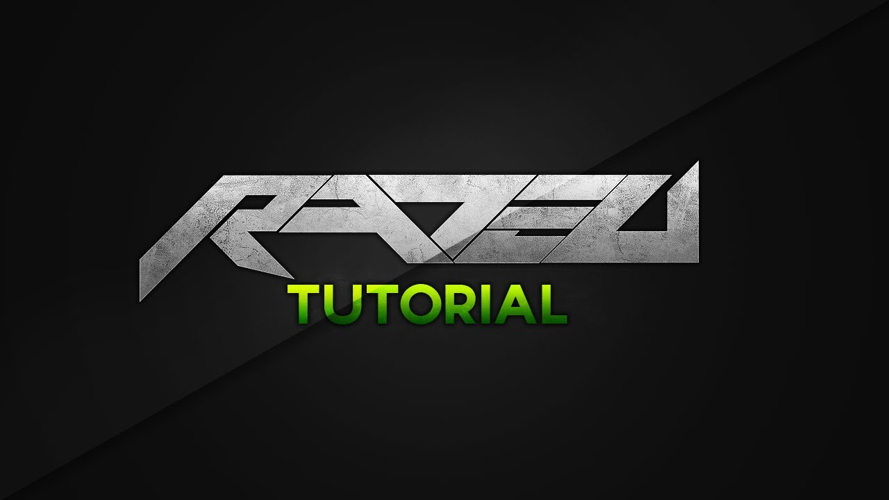 Rated Designs Tutorial Creating A Basic Text Logo Concept - YouTube