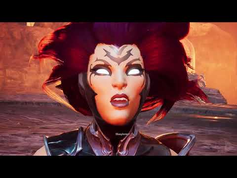 DARKSIDERS 3 Final Boss and Full Ending (After Credits Scene) 1080p HD