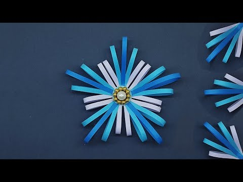 3D Paper Star for Christmas | Christmas DIY Crafts