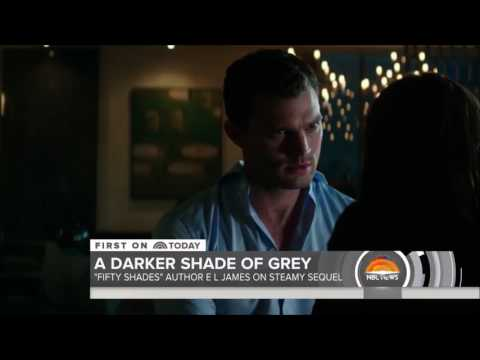 Fifty Shades Darker - New scenes and BTS on Today