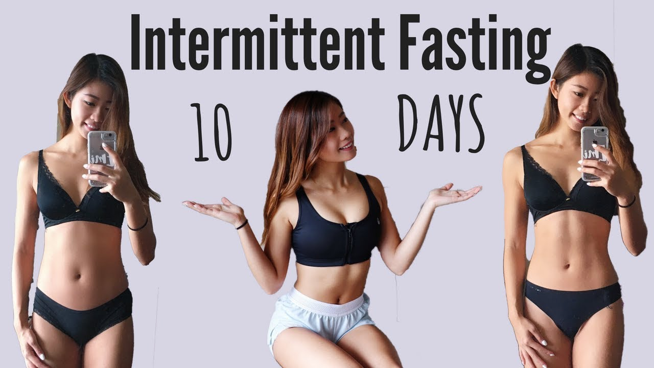 I Tried Intermittent Fasting for 10 DAYS | WHAT I EAT ...