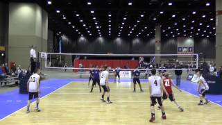 2015 LIVBC 15 National v Chicago Bounce - Match 1 - Game 3