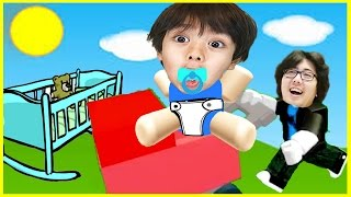 ROBLOX Adopter et élever un enfant mignon! Let's Play Family Game Night avec Ryan's Family Review