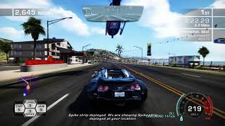 Bugatti Veyron 16.4 Grand Sport Race(BREAKING POINT)Mclaren F1 Police Cars