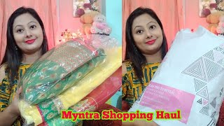 Myntra Shopping Haul || Myntra Party Wear Saree Shopping || Saree Under 1500