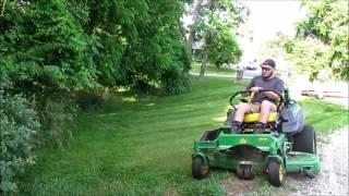 John Deere 915B Lawn Care Vlog #2