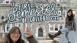 my very first semester of college // seo vlogs