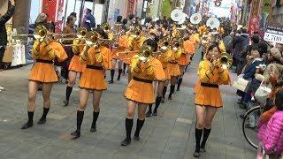 京都橘高校 ローズパレード出場国内記念パレード