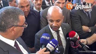 وزير الشباب والرياضة  برناوي ينتفض ضد تأخر انجاز ملعب #وهران...
