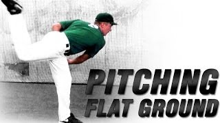 Baseball Flat Ground Mechanics | Increase Pitching Velocity