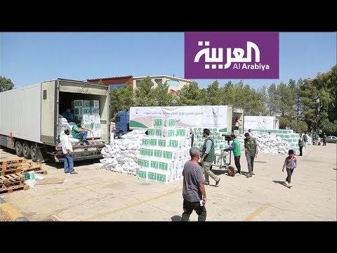 مساعدات سعودية للاجئين سوريين وفلسطينيين  - نشر قبل 24 ساعة