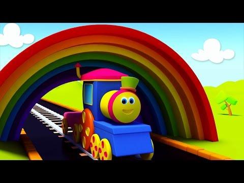 รถไฟบ๊อบเรียนสี | BOB THE TRAIN ON A COLOR RIDE