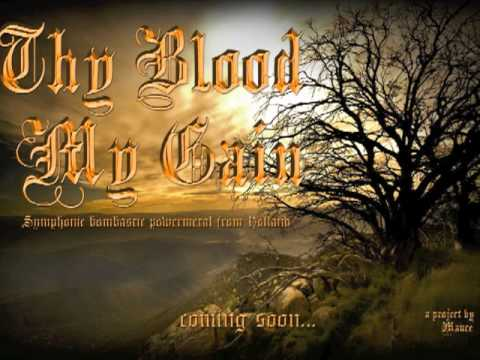 Scarborough Fair (metal version by Thy Blood My Gain)