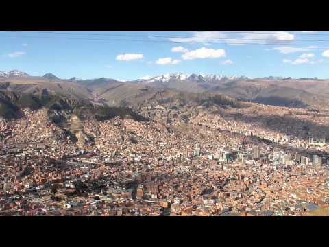 La Paz, Bolivia, the highest capital city in world