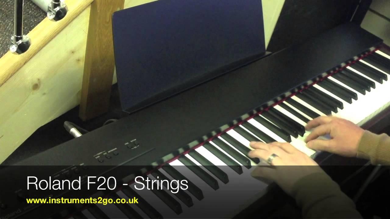yamaha ydp142 vs roland f20 digital piano comparison video youtube. Black Bedroom Furniture Sets. Home Design Ideas