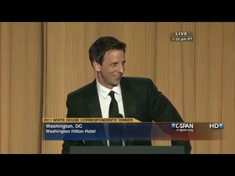 Thumbnail: C-SPAN: Seth Meyers remarks at the 2011 White House Correspondents' Dinner