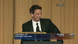 Seth Meyers remarks at the 2011 White House Correspondents' Dinner. View the complete program here: ...