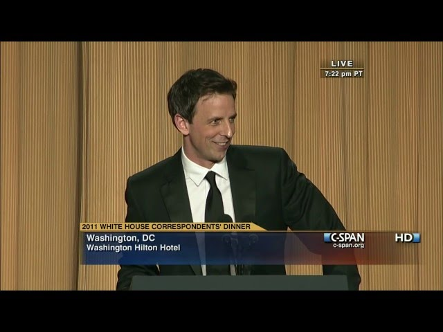 When The White House Correspondents Dinner Was Actually Funny