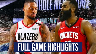 PORTLAND TRAILBLAZERS VS. HOUSTON ROCKETS - FULL GAME HIGHLIGHTS | 2019-20 NBA SEASON