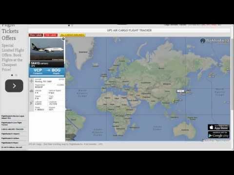 UPS Air Cargo Tracking