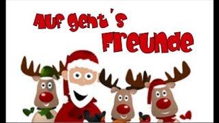 RENTIER SONG mit Text (RAP)🎅 Kinder Weihnachtslieder zum Mitsingen 2019/ Rentierlied Weihnachts-RAP