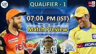 Chennai Super Kings vs Sunrisers Hyderabad