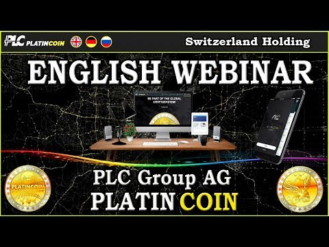PlatinCoin PLC Group AG - English WEBINAR - Info about PLC &