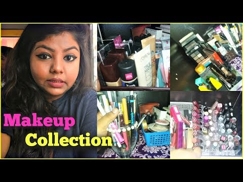 My Makeup Collection & How I Store My Makeup | Indian Vanity Tour | Indian Makeup & More