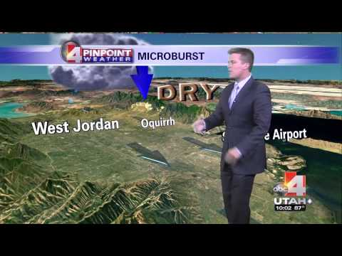 2013 06 12 Microburst story on ABC 4 Utah