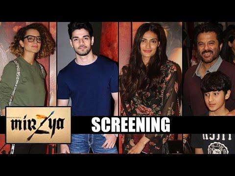 Mirzya Screening | Anil Kapoor, Kangana Ranaut, Elli Avram