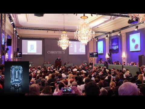 The Oppenheimer Vivid Blue Diamond Complete Auction | Christies, Geneva, Switzerland | Lot 242