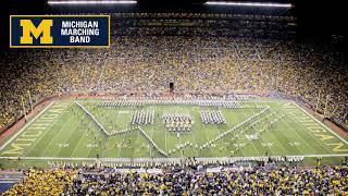 """The State of Michigan"" - The Michigan Marching Band and Spartan Marching Band"