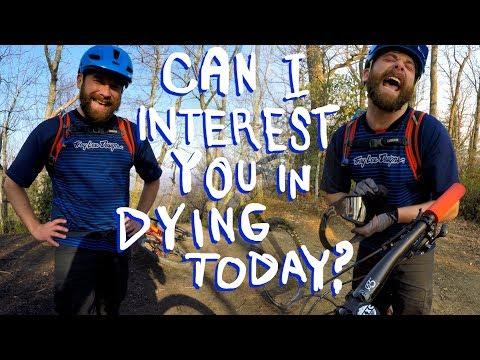 Bobo is trying to kill me | Mountain Biking Kistuma near Asheville, North Carolina
