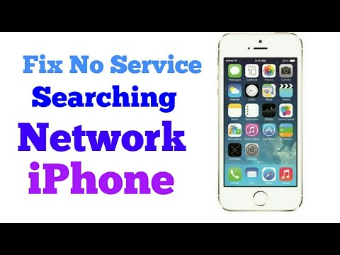 iPhone 5/5c/5s: How to Fix ;Searching
