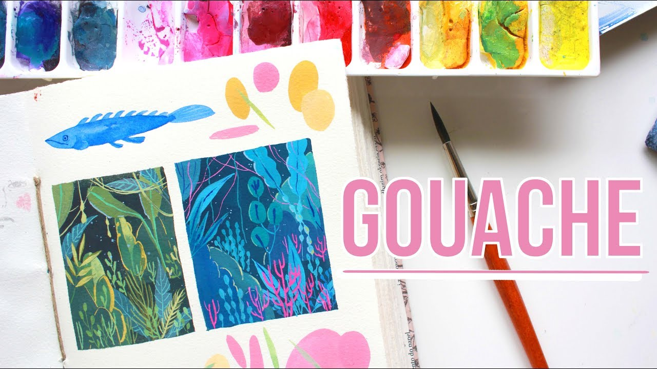 How to Paint With Gouache recommendations