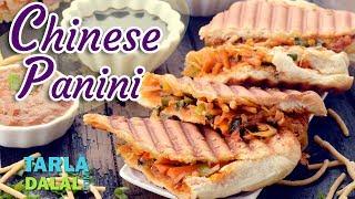 Chinese Panini recipe by Tarla Dalal