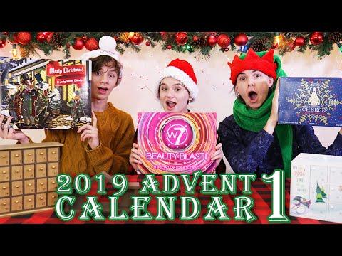 Day 1 2019 Advent Calendar Christmas Countdown!