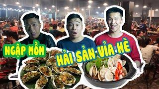 TOP những quán ăn đêm: HẢI SẢN VỈA HÈ   Ăn đêm Việt Trì #1