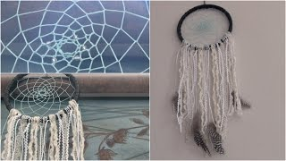 DIY Dream Catcher // SoCraftastic - Room Decor How To