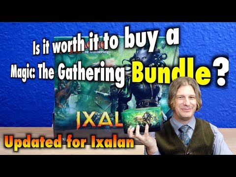 MTG - Is it worth it to buy a Magic: The Gathering Bundle? Updated for Ixalan