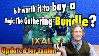 mtg is it worth it to buy a magic the gathering bundle? updated for ixalan