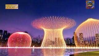 Burj Khalifa and Dubai Fountain concept anmation