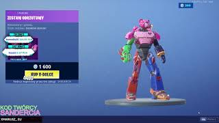 CELLAR FORTNITE 19.07.2019 NOWY SKIN ZA 1600V-DOLCY EMOTKA 100V-DOLCY