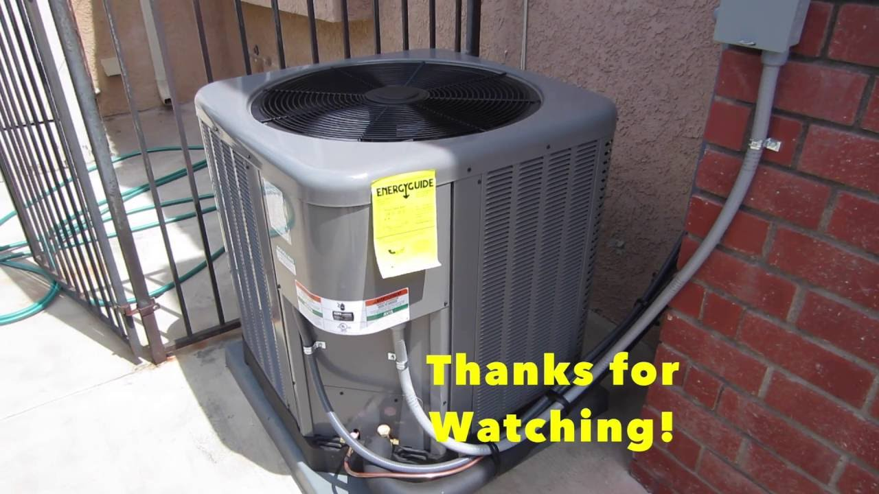 rheem 3 ton heat pump. rheem classic series ra14 3 1/2 ton install heat pump