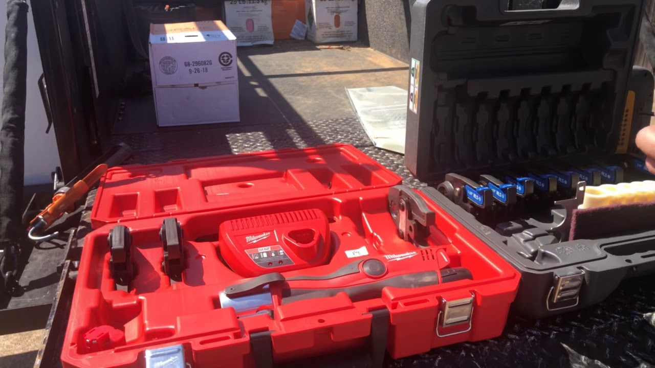 Using Zoomlock Flameless Refrigerant Fittings On The Job Today