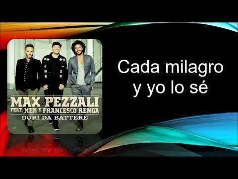 Max pezzali - Duri da battere (feat Nek, Renga) Sub español