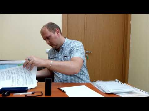Судебное заседание по Лысовой Г В  мировой судья Вычегжанин Р В  юрист Вадим Видякин ч  1